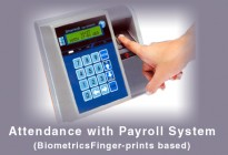 Attendance with Payroll System (BiometricsFinger-prints based)